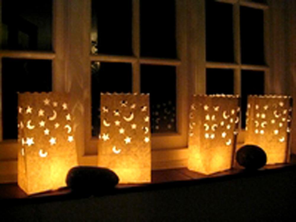Sacchetti porta candele for Candele per piscina