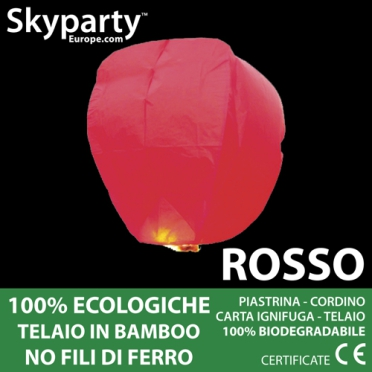 Lanterne Cinesi Rossa XXL