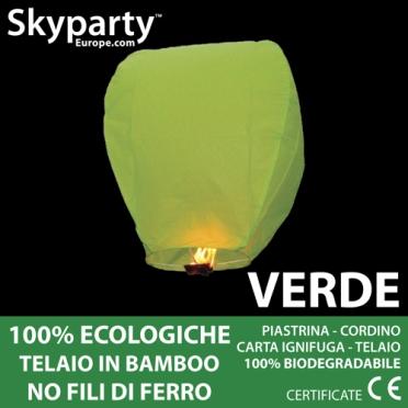 Lanterne di Carta Verde XXL