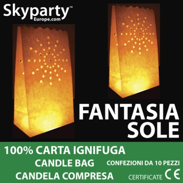 Candle Bag - Fuochi d'Artificio