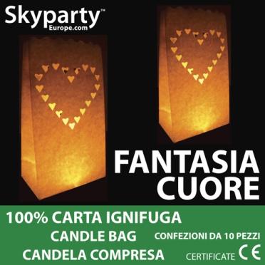 Candle Bag - Cuori