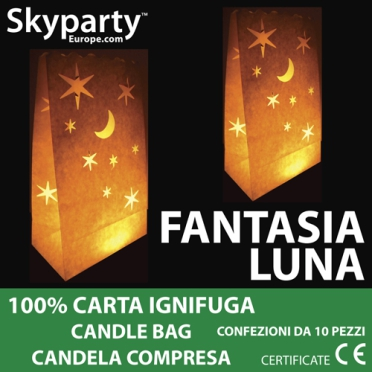 Candel Bag - Stelle e Luna