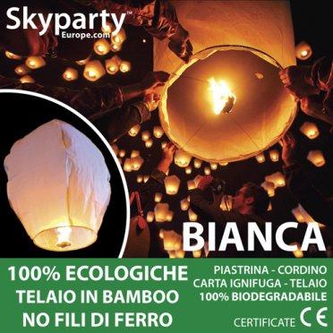 Lanterne Cinesi Bianche XXL